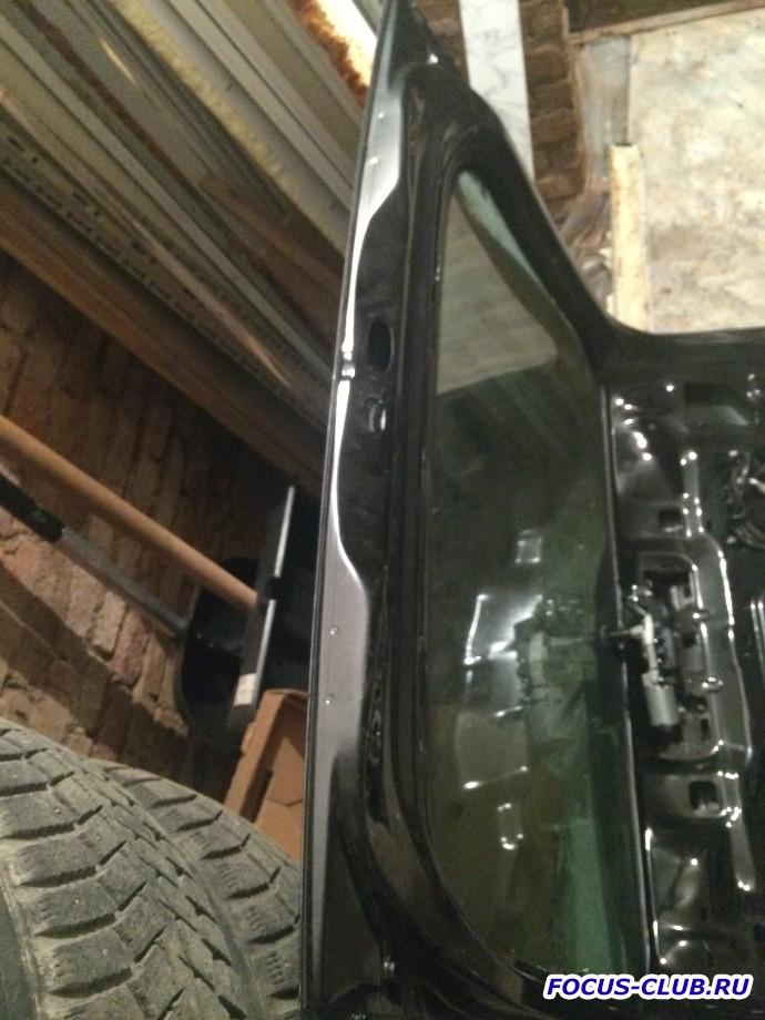Продам крышку багажника форд фокус 2 хэтчбек дорестайлинг - IMG_1042-min.JPG
