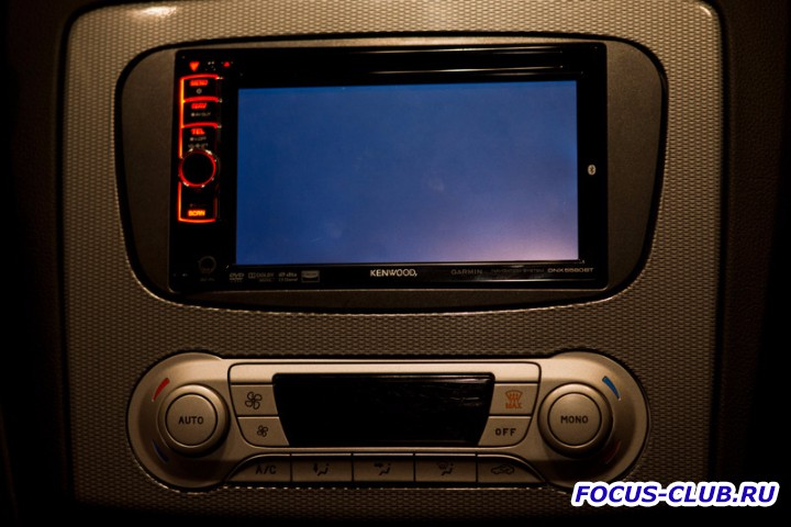 Kenwood DNX5580BT на Focus 2 - DSC09140.jpg