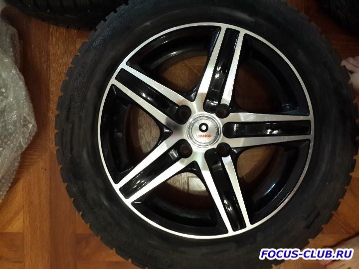 Продаю колеса R15 с шинами Gislaved Nord Frost 5 195x60xR15 - 20151105_123450.jpg
