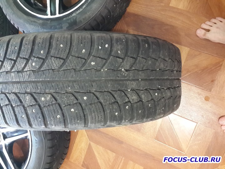 Продаю колеса R15 с шинами Gislaved Nord Frost 5 195x60xR15 - 20151105_123515.jpg