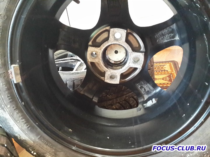 Продаю колеса R15 с шинами Gislaved Nord Frost 5 195x60xR15 - 20151105_123539.jpg