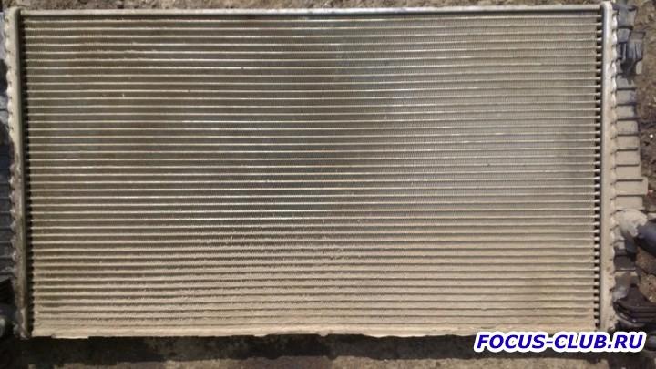 Грязный радиатор Ford Focus 2 - 210819486.jpg
