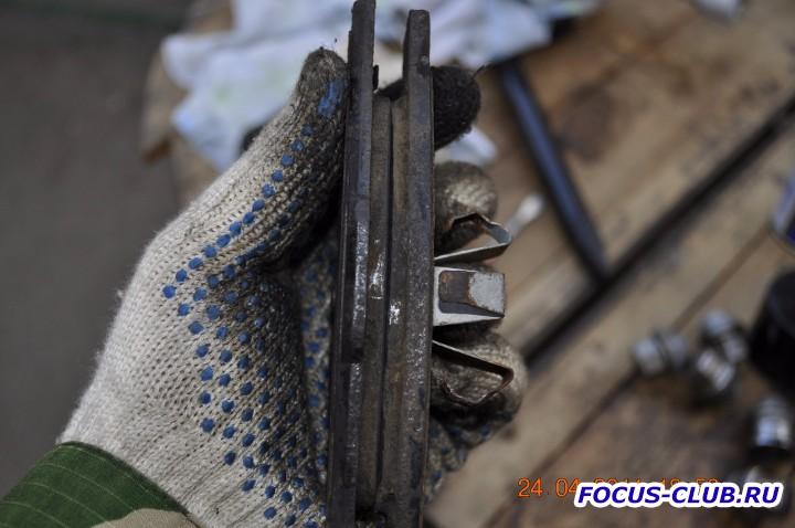 Замена передних тормозных колодок на Focus 2 фотоотчет  - DSC3031.jpg