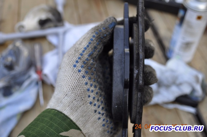 Замена передних тормозных колодок на Focus 2 фотоотчет  - DSC3032.jpg
