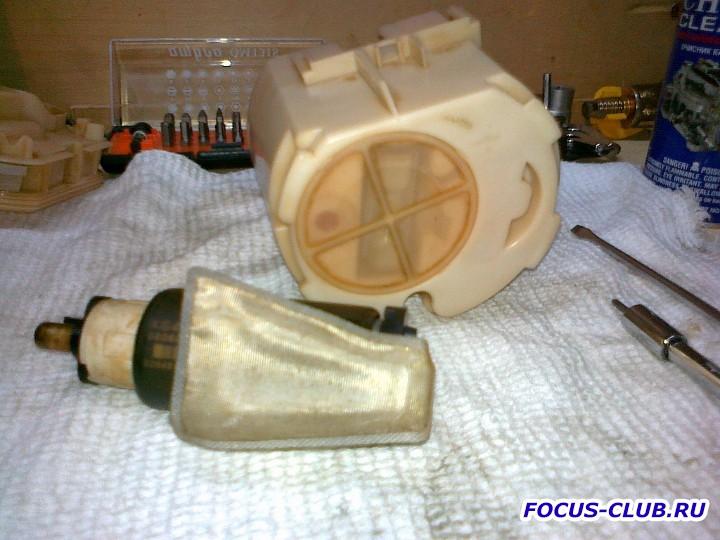 Снятие бака и замена топливного фильтра Focus 1 - 27062011497.jpg