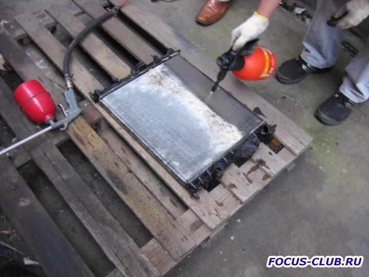 Промывка радиатора от грязи средством Крот  - IMG_3505.jpg