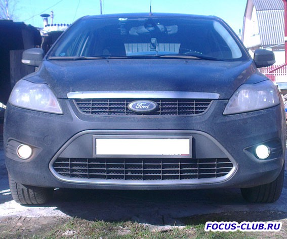 Защитная сетка радиатора Ford Focus 2 - IMAG0384.jpg