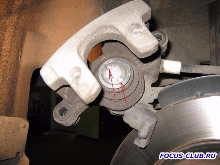 Замена тормозных колодок форд фокус 2 задних 187