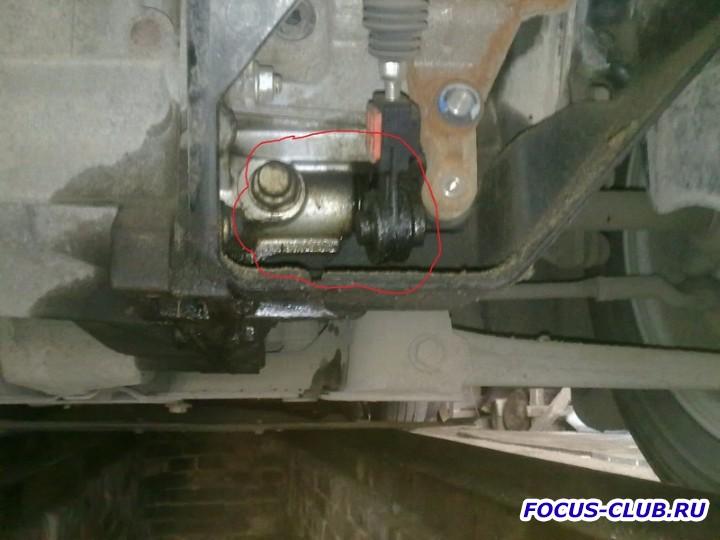 Ремонт течи подтеков масла из КПП фотоотчет  - 29042011134.jpg