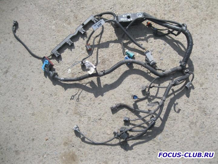 Помогите с подключением разъёмов двигателя. - ford-focus-2-provodka-dvigatelya-kosa.jpg