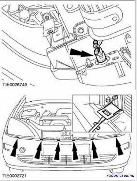 Снятие переднего бампера Ford Focus 1 - 0736.jpg