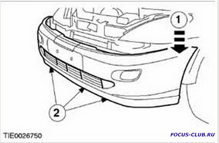 Снятие переднего бампера Ford Focus 1 - 0737.jpg