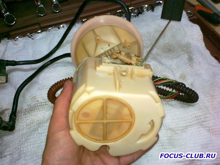 Снятие бака и замена топливного фильтра Focus 1 - 27062011494.jpg